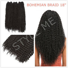 Crochet Braids BOHEMIAN BRAID Hair Extension 1/3/5 Bundle