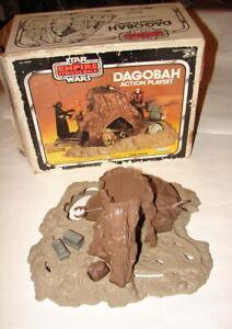 Star Wars Vintage Kenner ESB Dagobah playset YODA  w box 1980 Empire EV  221