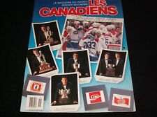 LES CANADIENS  °  CALENDRIER 1989-1990  <> SPECIAL ED. AOUT/SEPT. 1989