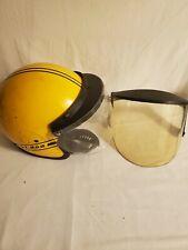 Vintage Ski Doo Snowmobile Helmet Size Small