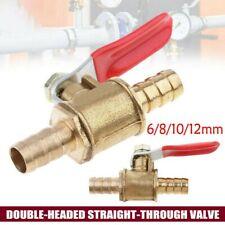 1 Stück Messing Kugelhahn Absperr- Ventil Kugel for Verwendung Mit Wasser Benzin