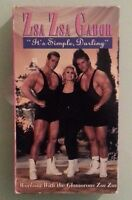 zsa zsa gabor  IT'S SIMPLE DARLING its    VHS VIDEOTAPE