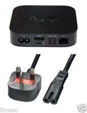 NUOVO! Figura 1.5M 8 C7 UK 3 Pin Cavo Adattatore Di Alimentazione Per Apple TV – Tutte le Versioni