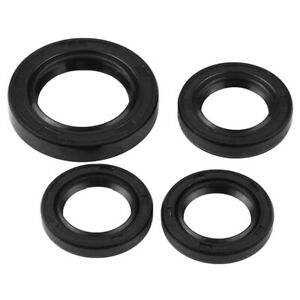 Oil Seal, 4 Pcs Engine Crankshaft Gear Crankcase Oil Seal For Gy6 125Cc 150 R9Z6