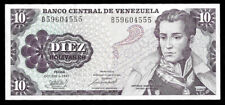 World Paper Money - Venezuela 10 Bolivares 1981 @ Xf-Au ; Ref. # 555