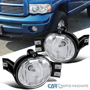 For 02-08 Dodge Ram 1500 2500 3500 04-06 Dodge Durango Fog Lights Bumper Lamps