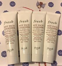 4X FRESH Soy Face Cleanser Deluxe samples .6 oz Each LOT