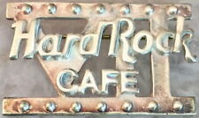 """7th Year Hard Rock Cafe STAFF Sterling Silver PIN """"VII"""" Marque with HRC Logo NEW"""