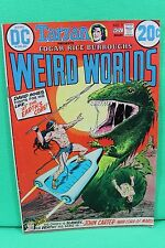 Weird Worlds #2 Edgar Rice Burroughs Tarzan John Carter Comic by DC Comics VG