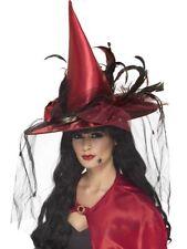Accessori rosso Smiffys per carnevale e teatro dal Perù