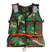 Camouflage vie gilet eau sport gilet de sauvetage pour la pêche bateau à la