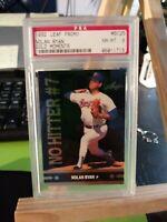 1991 Leaf Golden Moments - Nolan Ryan (#BC25)   Rangers PSA 8 NM-MT