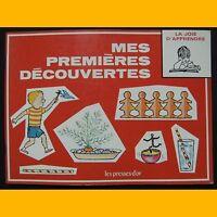 Collection La Joie d'Apprendre MES PREMIÈRES DÉCOUVERTES B. Morris Parker 1972