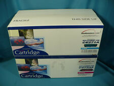 SEL Reman CE271A CE273A Cyan Magenta Toner Cartridge Color Set New Box for HP CP