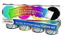 Speedball Pantalla tinta de imprenta Acrílico Starter Set