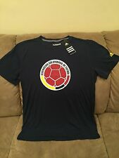 NWT Adidas Federacion Colombia Performance World Cup Shirt Jersey Soccer Futbol