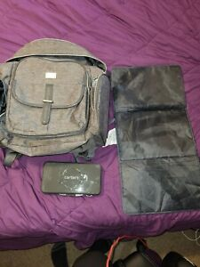 Carters backpack diaperbag with stroller clip