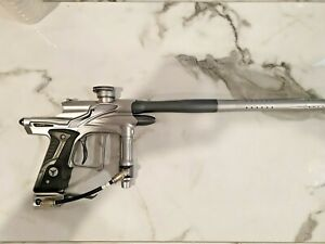Dangerous Power FX-10 Paintball Marker Silver Pewter