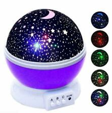 FOR 2-10 Year Old Kids Star Moon LED Night Light Xmas Gift TOYS Constellation US