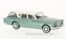 PLYMOUTH VALIANT Stationwagon 1960 Metallic-Vert/Blanc Neo 1:43 47115 >> NEW <<