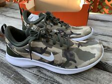 Men's NIKE FLEX Experience RN 8 Camo Desert Running Shoe BQ7159-200 Size 10