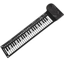 PIANOFORTE PORTATILE ARROTOLABILE 49 TASTI TASTIERA ELETTRONICA RIPRODUZIONE