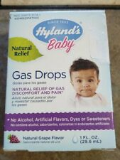 Hyland's Baby Gas Drops Homeopathic Relief, Gas Discomfort and Pain Grape Flavor