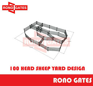 100 Head Sheep Yard Design Sheep Yard Panel & Gate