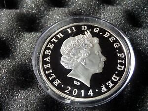 Eastern Caribbean Dominica 1 dollar 2014 proof.