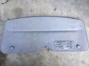1987-1993 Nissan Pickup D21 Hardbody Pathfinder Sunroof Shade W/Holder Bag Used