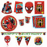 ULTIMATE SPIDER-MAN Birthday PARTY RANGE - Original - Spiderman/Marvel/Tableware