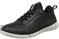 Ecco Men's Intrinsic 1 Low Cut Lace Black Sneaker EUR Sz 38 1127