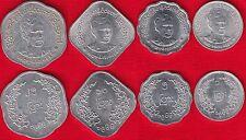 Myanmar set of 4 coins: 1 - 25 pyas 1966