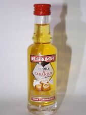 Vodka rushkinoff 40 ML 18% MINI BOTTIGLIA BOTTLE miniature bottela MIGNON bravi