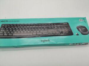 Logitech MK270 Kabelloses Tastatur-Maus-Set, 2.4 GHz Wireless Verbindung via Nan