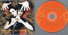 DIROTTA SU CUBA CD single 1 traccia PROMO Sono qui  2002 SIMONA BENCINI