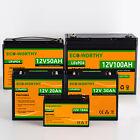 8AH 20AH 30AH 50AH 12V LiFePO4 Lithium Iron Phosphate Battery 3000+ Deep Cycle