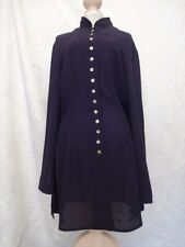 Planet Ladies Purple/ Blue Long sleeved smart buttoned Top (14)