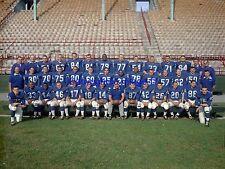 Buffalo Bills 1961 Team Photo 16X20 Color