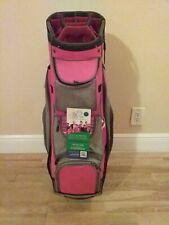 Callaway Red ORG 14 Cart Golf Bag 14-way dividers & rain cover