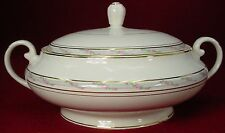 POPE GOSSER china LA BELLE pattern ROUND Covered VEGETABLE BOWL with LID