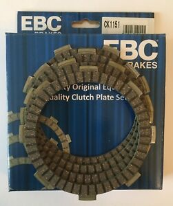 EBC Resistente Embrague Fricción Placas (X 4) Para Yamaha YBR125 Ed (2005 2009)