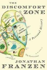 Jonathan Franzen / Discomfort Zone A Personal History 2006 Biography 1st ed