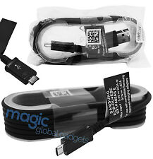 Black Genuine Original 1.5M Long Samsung Galaxy A3 A5 J5 Fast charger USB Cable
