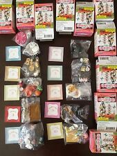 RE-MENT Rare Full Set of 10 - Fairy Tale Tableware, 1:6 Barbie kitchen food mini