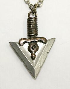Alchemy Gothic Druid's Arrow Pendant Necklace P24