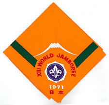 1971 World Scout Jamboree OFFICIAL PARTICIPANTS NECKERCHIEF (N/C) / SCARF