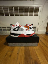 Air Jordan Retro 4 Fire Red Size 10.5