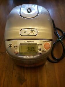 Zojirushi NP-GBC05-XT Induction Heating System Rice Cooker & Warmer
