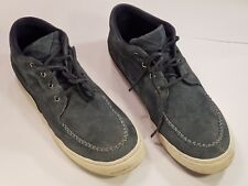 POINTER Suede Dark Blue Lace-up Casual Shoes- Size UK 9 - Pre-worn - Good Cond